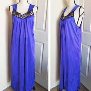Cinejour Sheer Lace Nightgown M